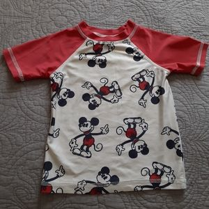 Mickey Mouse T Shirt Junk Food Kid's 3T
